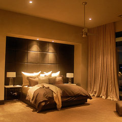 contemporary bedroom by Cornerstone Architects