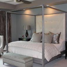 Traditional Bedroom by Meghan Blum
