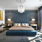 Olstad Drive Residence Master Bedroom 2 Transitional