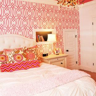 Mittelgroßes Klassisches Schlafzimmer in Raleigh