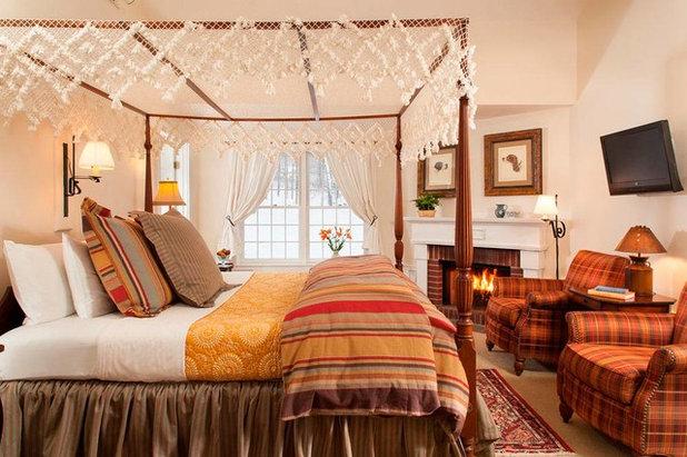 Camere Da Letto Matrimoniali Romantiche : Camera da letto con baldacchino per inguaribili romantici