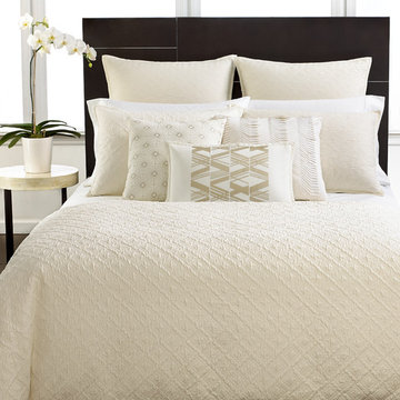 Hotel Collection Bedding, Stitched Diamond Collection
