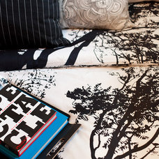 Contemporary Bedroom by Natalie Fuglestveit Interior Design