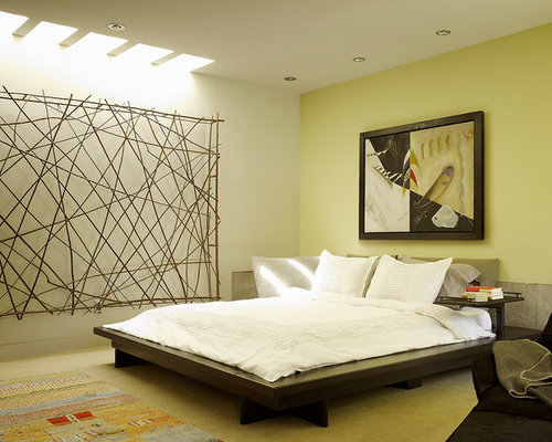 Zen bedroom houzz for Zen bedroom designs