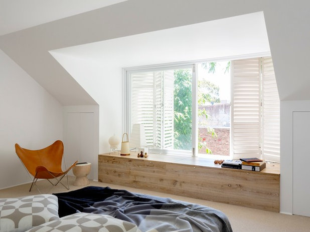 Contemporary Bedroom by Campbell Architecture
