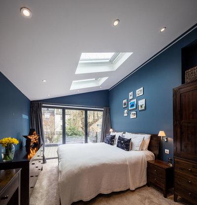 Scandinavian Bedroom House Extension