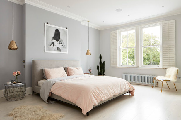 10 Dusky Pink and Grey Bedrooms We Love on Houzz