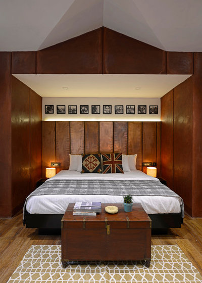 Contemporary Bedroom by Architecture + Design Ankit Prabhudessai