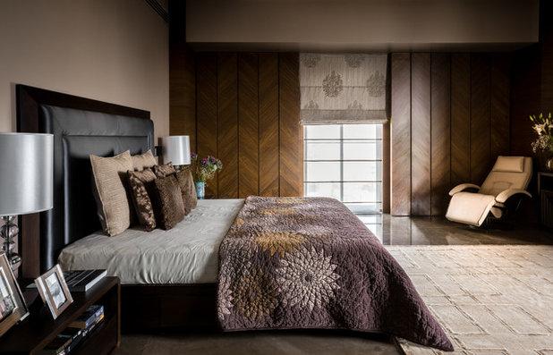 Contemporary Bedroom by Fabien Charuau Photography