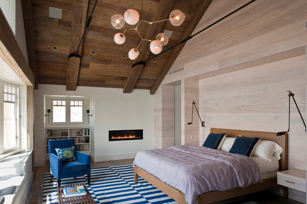 Contemporary Bedroom by Sequined Asphault Studio Photography