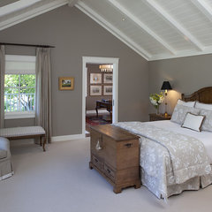 traditional bedroom by Julie Williams Design