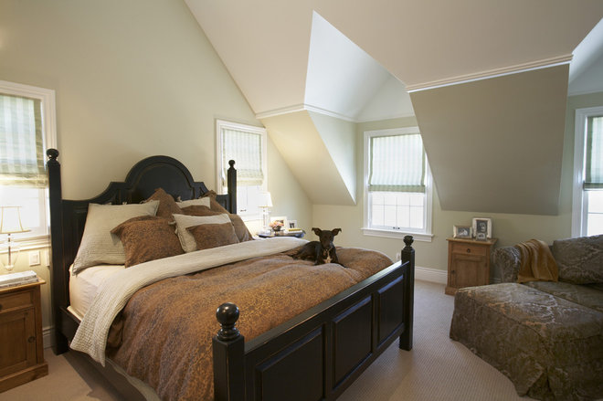 Traditional Bedroom by Mahoney Architects & Interiors
