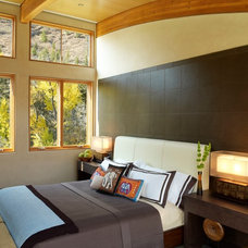 Contemporary Bedroom by 186 Lighting Design Group - Gregg Mackell