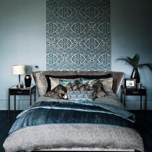 Inspiration för ett tropiskt sovrum