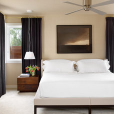 Contemporary Bedroom by Mark Ashby Design