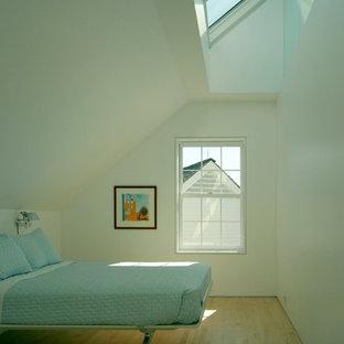 Slanted walls houzz - Bedroom furniture portland maine ...