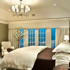 Beach Style Bedroom by Kim E Courtney Interiors & Design Inc