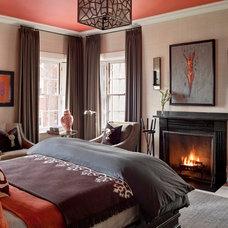 Transitional Bedroom by Siemasko + Verbridge