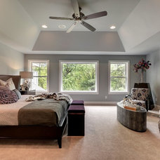 Transitional Bedroom by Habitat Architecture