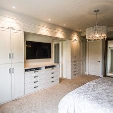 Contemporary Bedroom by Blackstone Cabinetry