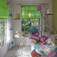 Eclectic Bedroom House styles pictures uk