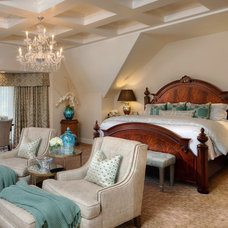 Traditional Bedroom by Scott Pease Photography