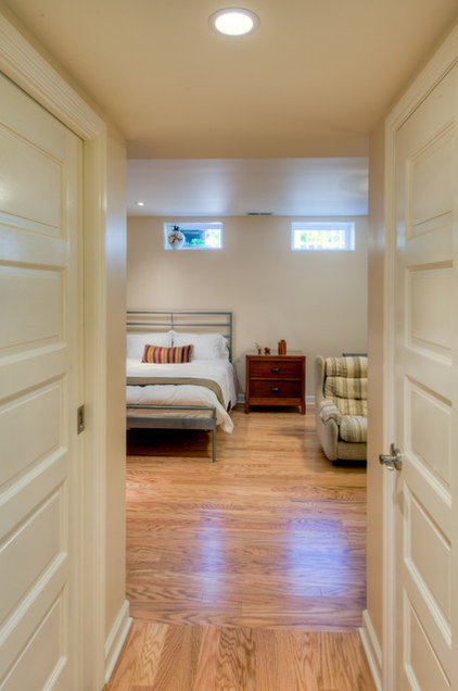 Transitional Bedroom by HOUSEworks Design/Build General Contractor