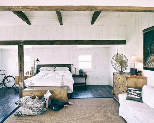 Painted Knotty Pine Home Design Ideas, Pictures, Remodel and Decor