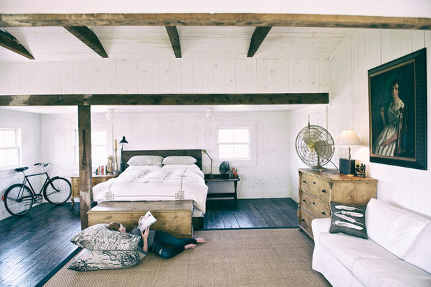 Houzz Tour: A Modern-rustic Family Farmhouse In California