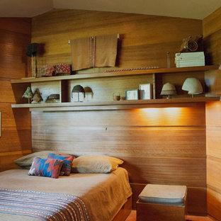 Foto de dormitorio minimalista pequeño