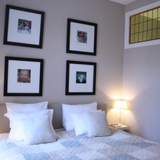 Traditional Bedroom by Holly Marder