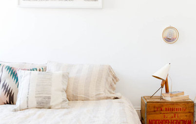 11 Creative and Thrifty Ideas for Bedside Tables