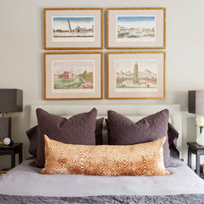 Transitional Bedroom Houzz Tour: Modern History