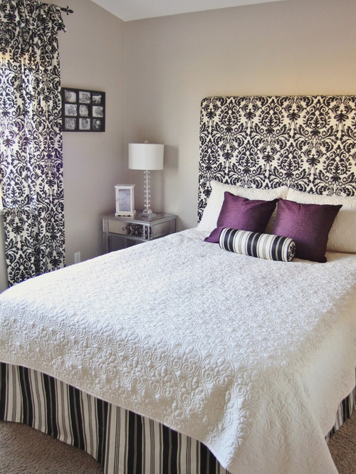 How to make a simple Fabric Headboard, wall mounted