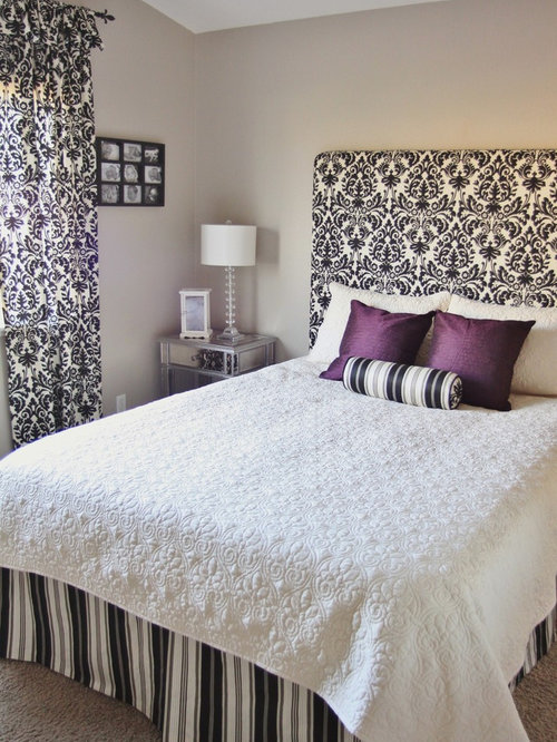 How To Make A Simple Fabric Headboard Wall Mounted