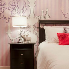 Eclectic Bedroom by Fenwick & Company Interior Design