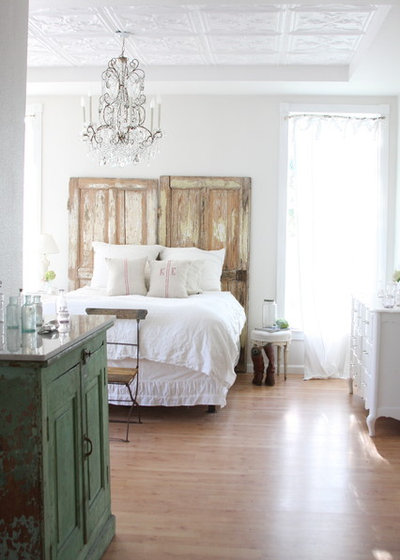 Shabby-Chic-Style Schlafzimmer by Dreamy Whites