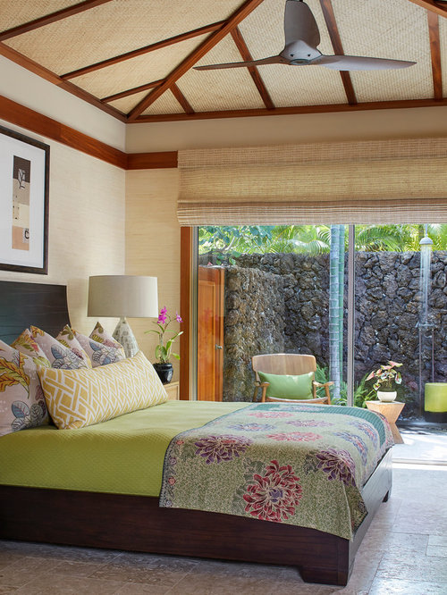 Hawaii bedroom design ideas remodels photos houzz for Island decor bedroom
