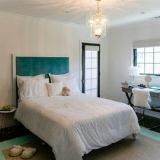 Transitional Bedroom by Jessica Claire Photography, Inc
