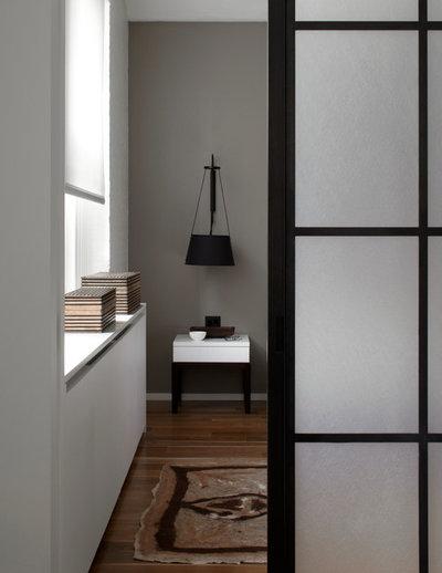 Contemporain Chambre by SchappacherWhite Architecture D.P.C.