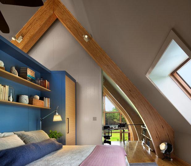 wie sie zimmer mit dachschräge effektiv einrichten, Wohnideen design