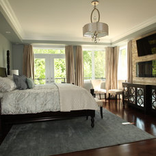 Contemporary Bedroom by Rebecca Mitchell Interiors & Boutique