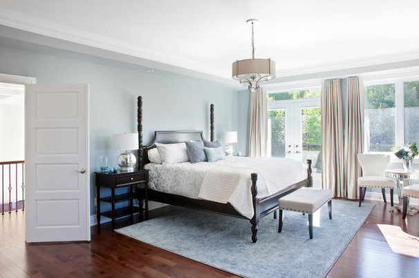 Traditional Bedroom by Rebecca Mitchell Interiors & Boutique