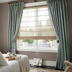 Hunter Douglas Full Product Line - Hunter Douglas Design Studio. Roman Shades, Curtains, Drapes, Side Panels, Decorative Valances and Cornices - Today's Window Fashions Andover