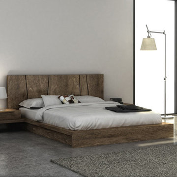 Huppe Silk Modern Bedroom Set - $1,922.00 - Modern1Furnitire.com