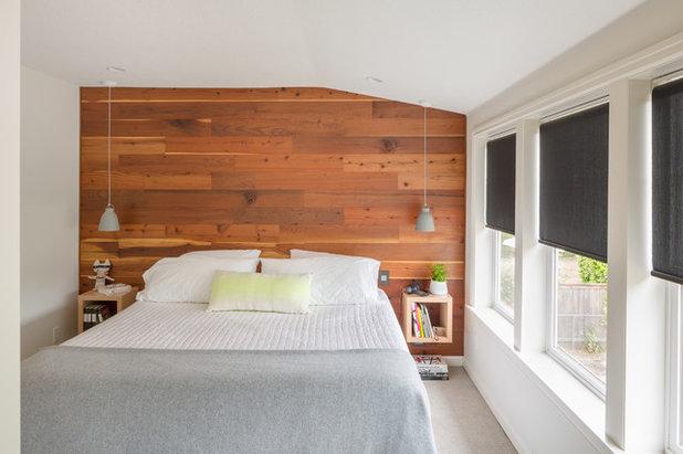 Scandinavian Bedroom by Guggenheim Architecture + Design Studio