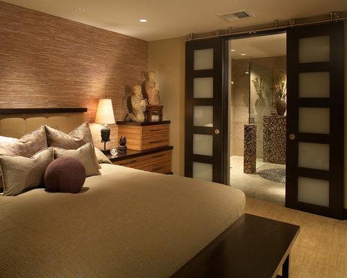 Camera da letto etnica con pareti multicolore foto e - Camera etnica arredamento ...