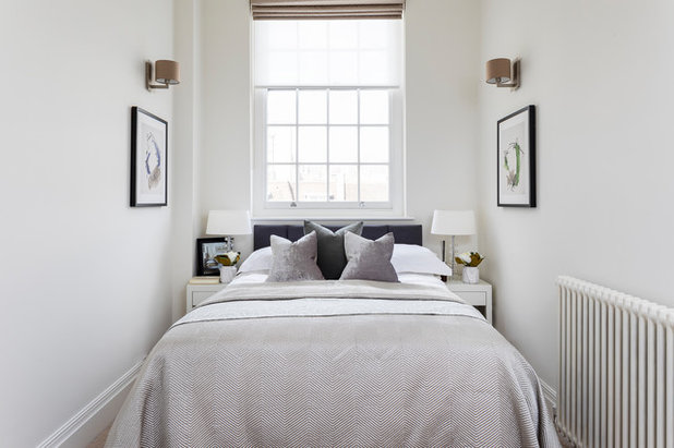 Transitional Bedroom by Burbeck Interiors ltd
