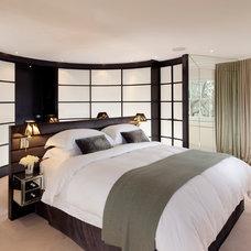 Contemporary Bedroom by Leon Black