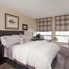 contemporary bedroom by Ruth Kintzer Interior Design